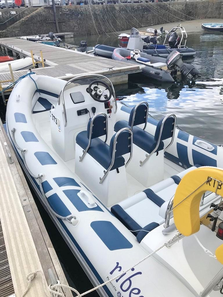 St Mawes RIB hire boat